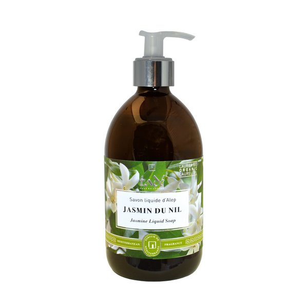 Liquid Aleppo soap · Jasmin du Nil & Bio Laurel oil, 500ml