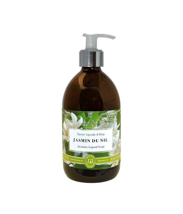 Tadé  Liquid Aleppo soap · Jasmin du Nil & Bio Laurel oil, 500ml