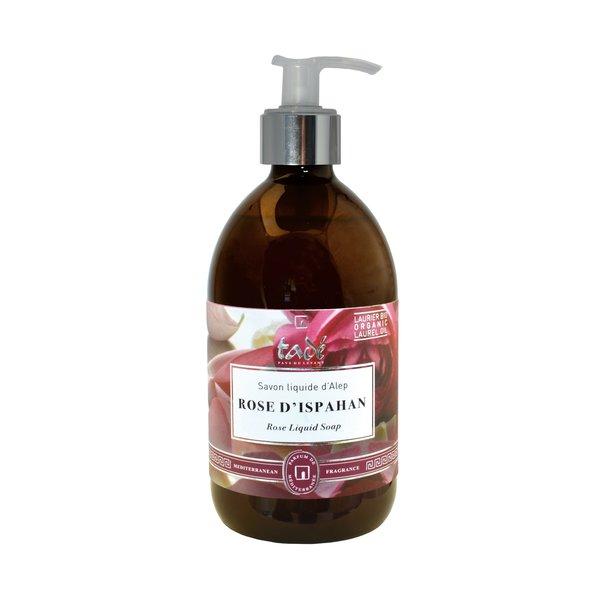 Liquid Aleppo soap · Rose d'Ispahan & Bio Laurel oil, 500ml