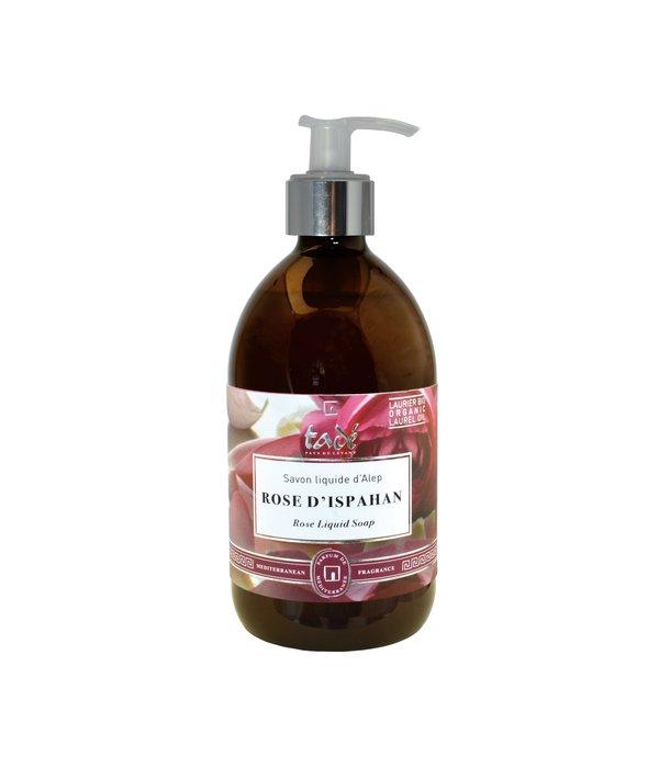 Tadé Liquid Aleppo soap · Rose d'Ispahan & Bio Laurel oil, 500ml