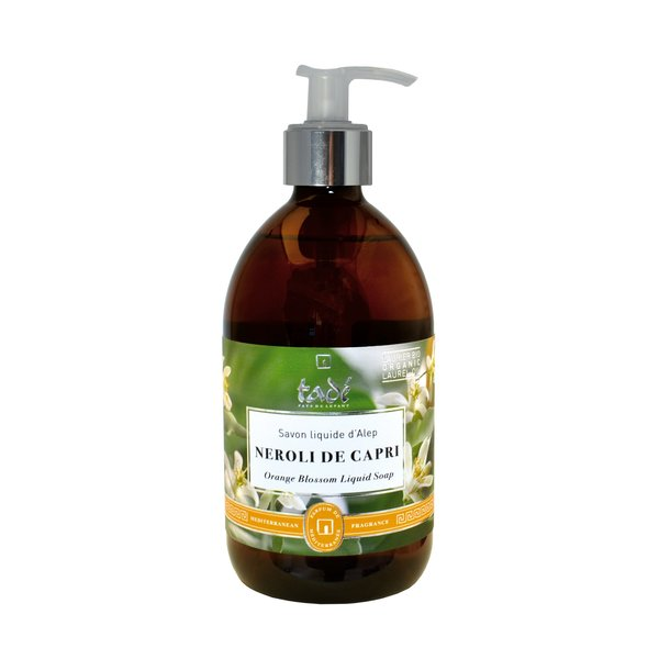 Liquid Aleppo soap · Néroli de Capri & Bio Laurel oil, 500ml