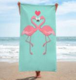 Summer Bath towels Flamingo