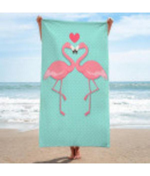 Summer Badhanddoeken Flamingo