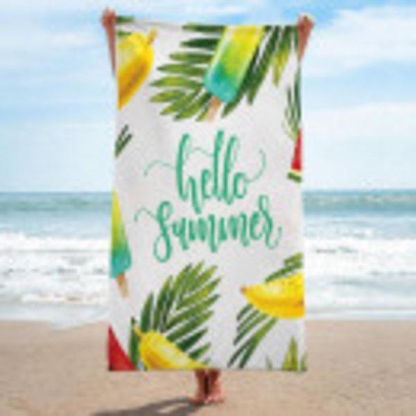 Bath towels Hello Summer