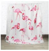 Summer Badhanddoeken Flamingo rond