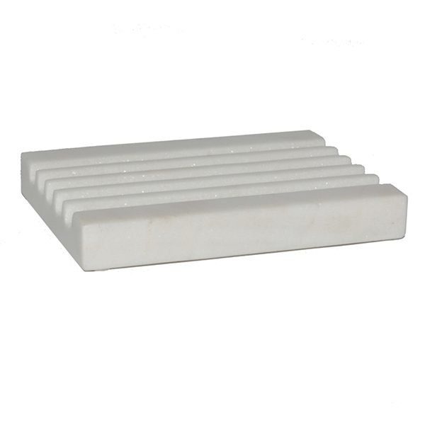 Soap Dish - White Marble