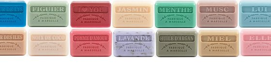 Traditional soaps from Marseille