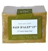 Tadé Aleppo zeep - 15% laurierbesolie  200 gr Tadé