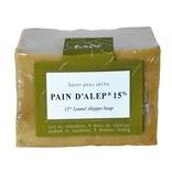 Tadé Aleppo soap - Pain d'Alep 15% laurier 200gr