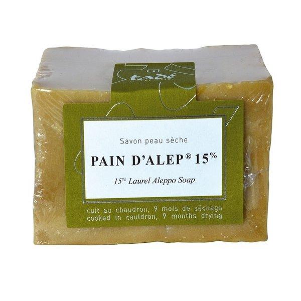 Aleppo soap - Pain d'Alep 15% laurier 200gr