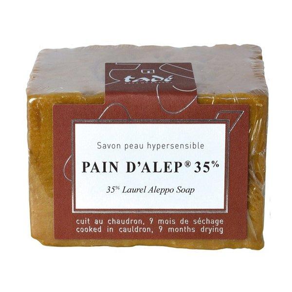 Aleppo soap - Pain d'Alep 35% laurier 200gr Tadé