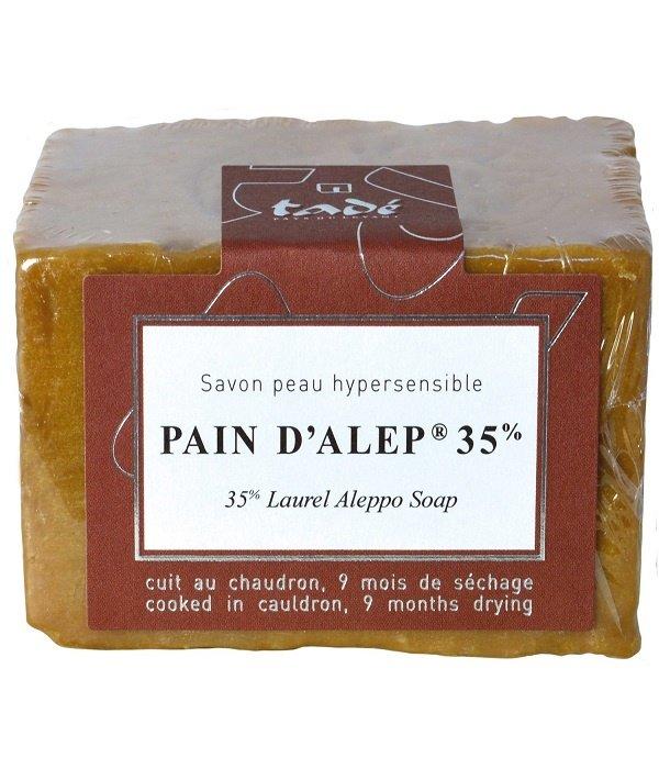 Tadé Aleppo zeep - Pain d'Alep 35% laurier 200gr