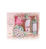POSY OF FLOWERS Bath set POSY OF FLOWERS in gift box