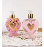 Hand soap HEARTS in heart-shaped pump dispenser