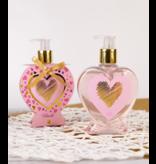 Handzeep HEARTS in hartvormige pompdispenser