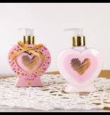 Handlotion HEARTS in hartvormige pompdispenser