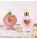 HEARTS Hand lotion HEARTS in heart-shaped pump dispenser