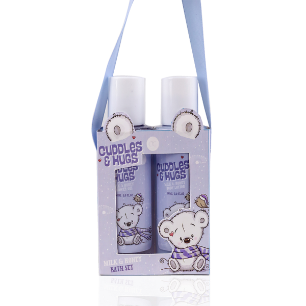 Badset CUDDLES & HUGS - Melk & Honing