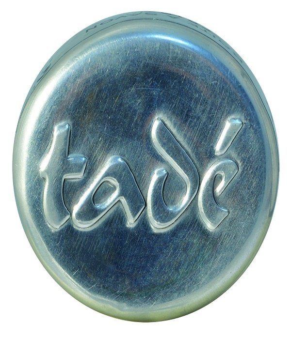 Boite à Savon Ronde Tade – ronde aluminium zeepdoos