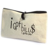 AW Bathroom and Soap Accessories Toiletry bag - I GOT BILLS