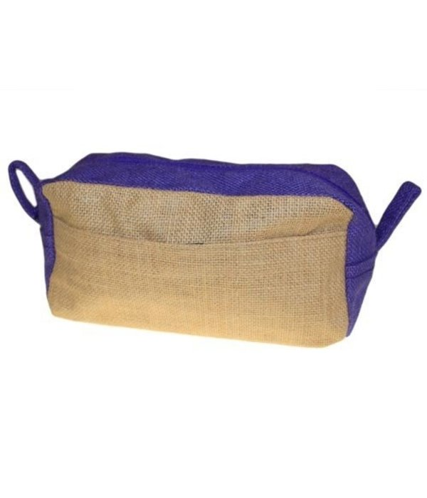 AW Bathroom and Soap Accessories Toiletry bag - Jute purple