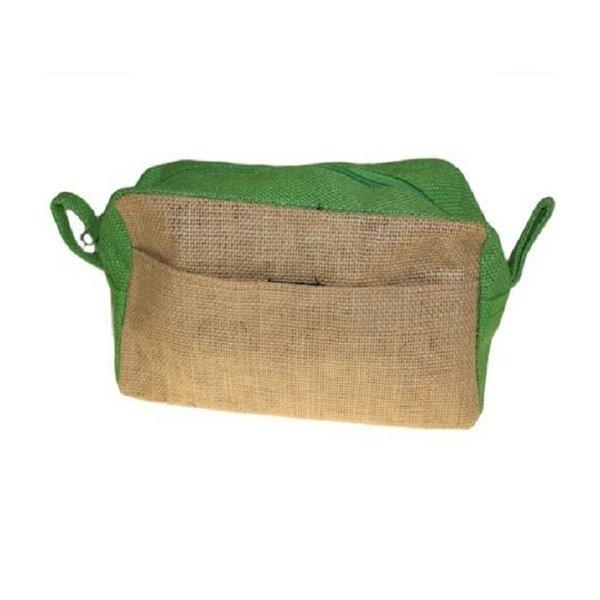 Toiletry bag - Jute green