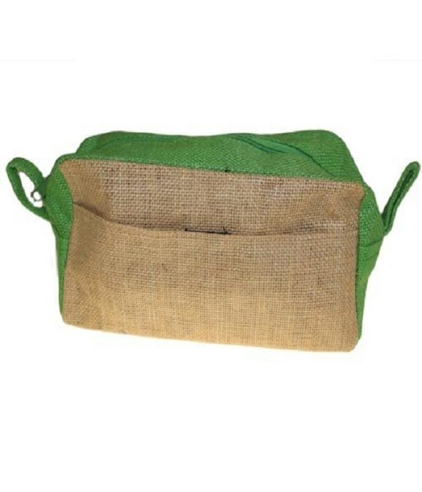 AW Bathroom and Soap Accessories Toilettas - Jute groen
