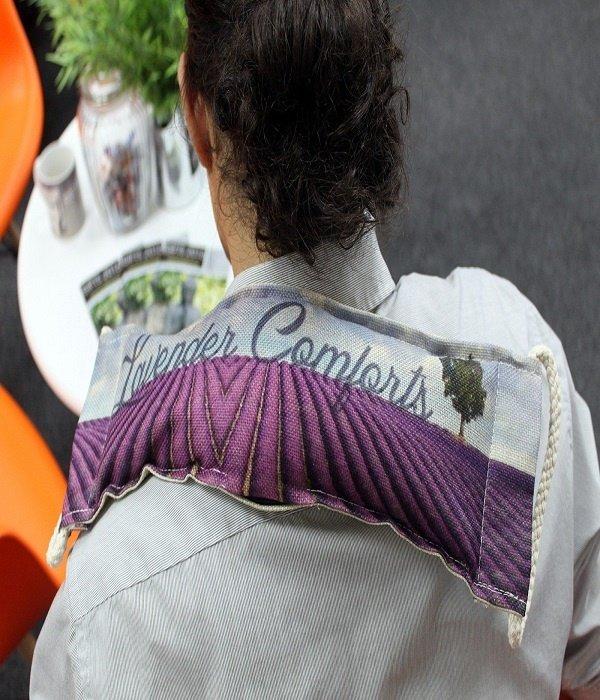 AW Home Luxury Lavender Wheatbag - Lavender Comforts