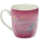 Betoverd Koninkrijk Prinses Slogan Porselein Mok
