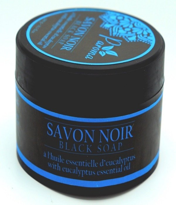 Paroma Zwarte zeep - met etherische olie