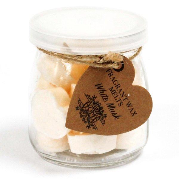 Soywax Melts Jar -  White Musk