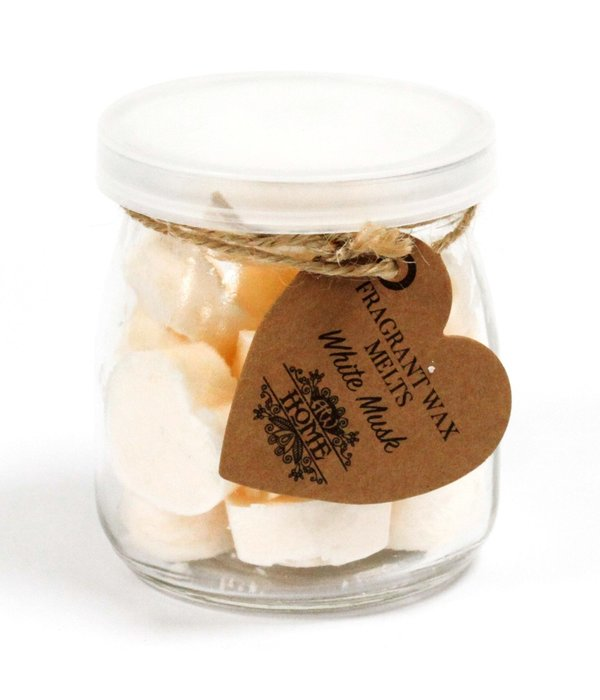 AW Home Soywax Melts Jar -  White Musk