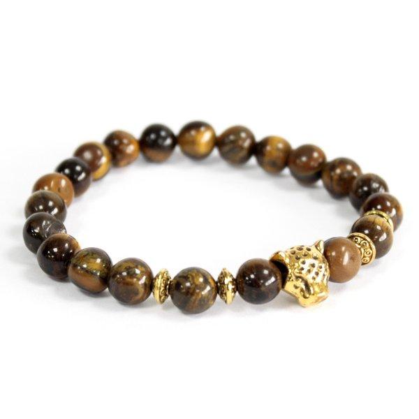 Gold Tiger / Tiger Eye - Gemstone Bracelet