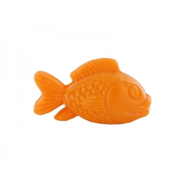 Soap in the shape of a fish