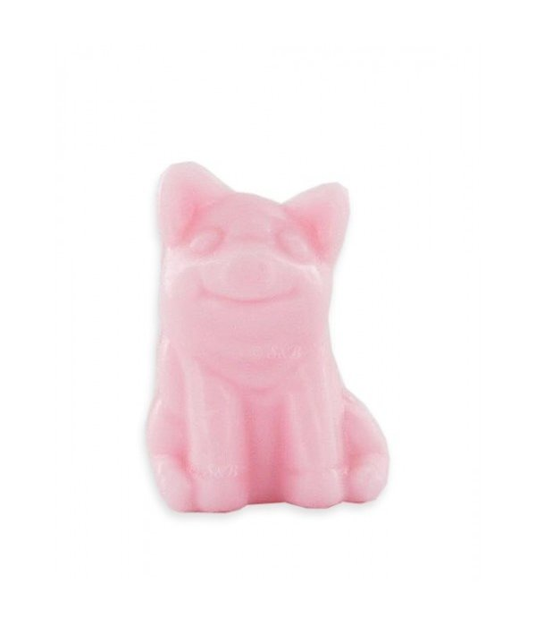 Soap in the shape of a pig