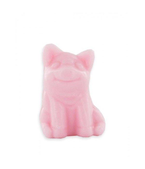 Zeep in de vorm van een varken