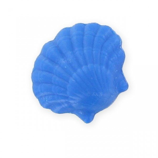 Soap in the shape of a seashell