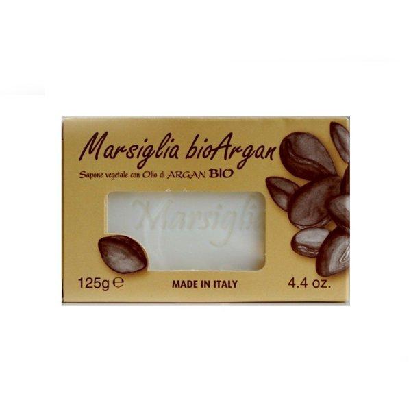 Soap with argan oil