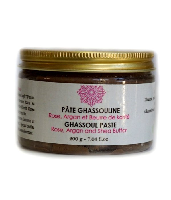 Paroma Moroccan Ghassoul Clay Paste with Argan and Shea Butter