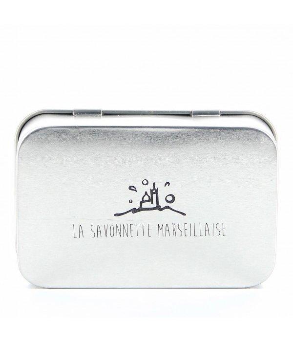 La Savonnette Marseillaise Aluminium Zeep Doosje