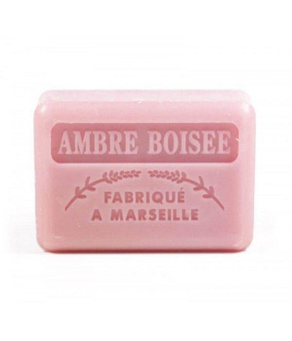 La Savonnette Marseillaise Marseille soap - Woody amber