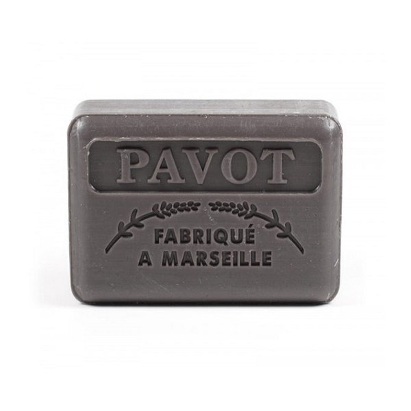 Marseille soap Pavot - Poppy - Opium