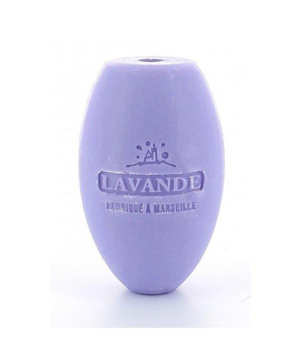 La Savonnette Marseillaise Zeep aan koord ovaal Lavendel 240 g