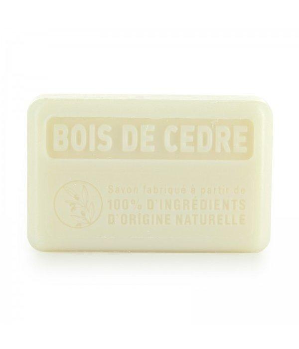 La Savonnette Marseillaise Marseille soap -  100% natuurlijk Cedar 125 g  Palm oil-free