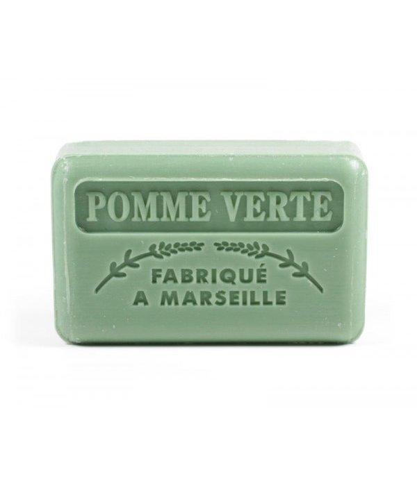 La Savonnette Marseillaise Marseille soap - Green apple