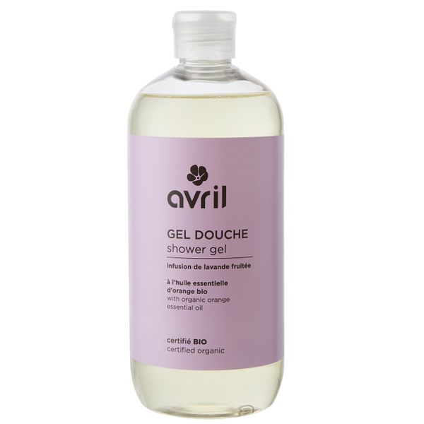 Avril certified organic FRUIT LAVENDER INFUSION Shower Gel 500ml