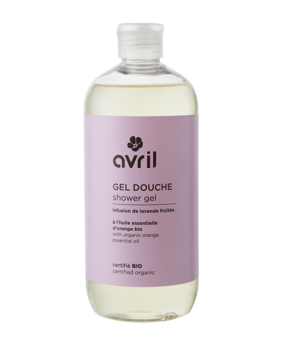 Avril Avril certified organic FRUIT LAVENDER INFUSION Shower Gel 500ml