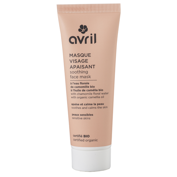 Avril certified organic Soothing Face Mask 50ml  - Sensitive skins