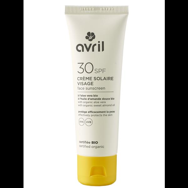 Avril certified organic Face Sunscreen 30SPF 50ml