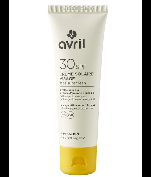 Avril Avril certified organic Face Sunscreen 30SPF 50ml